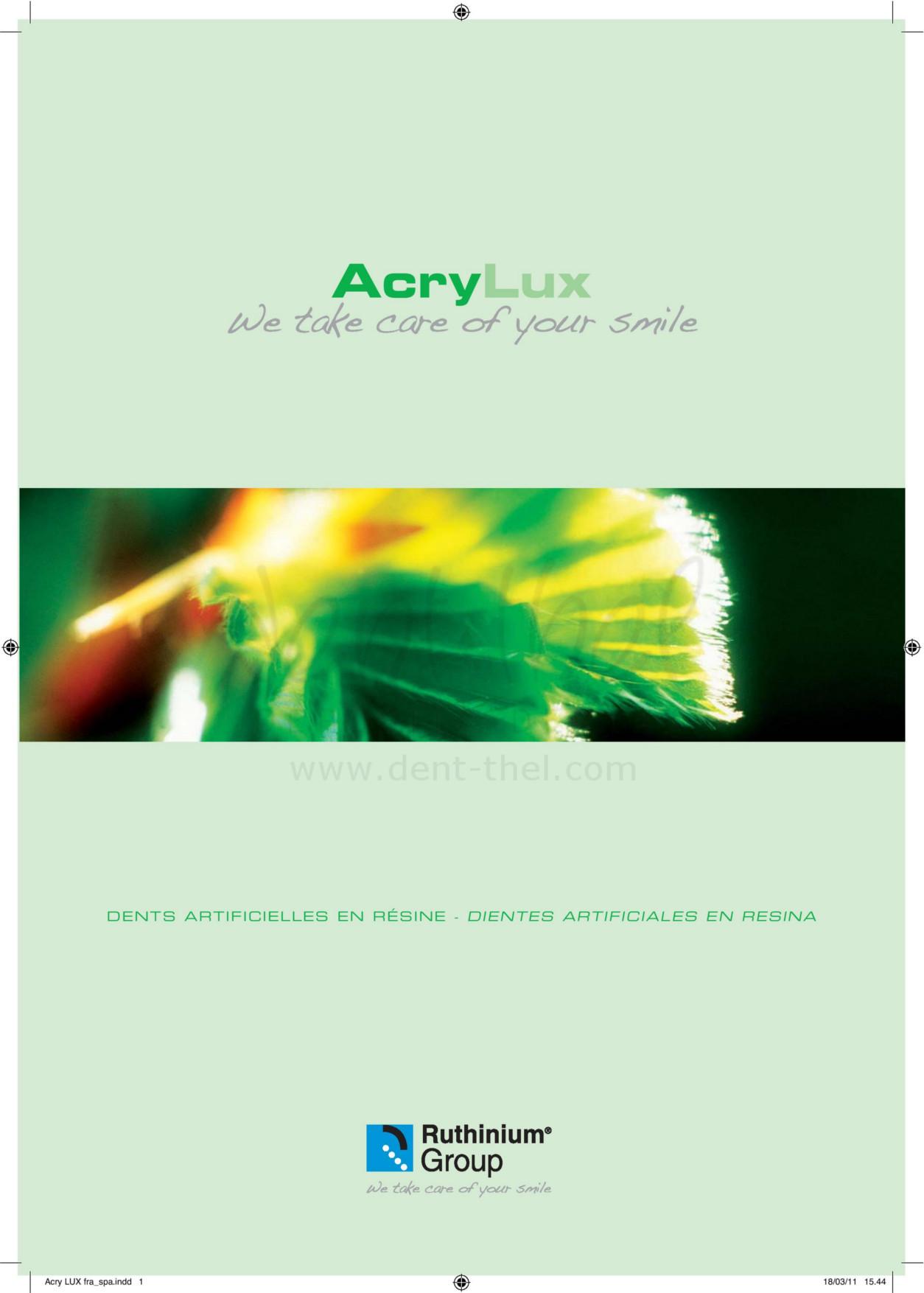 Carta formas Acry Lux