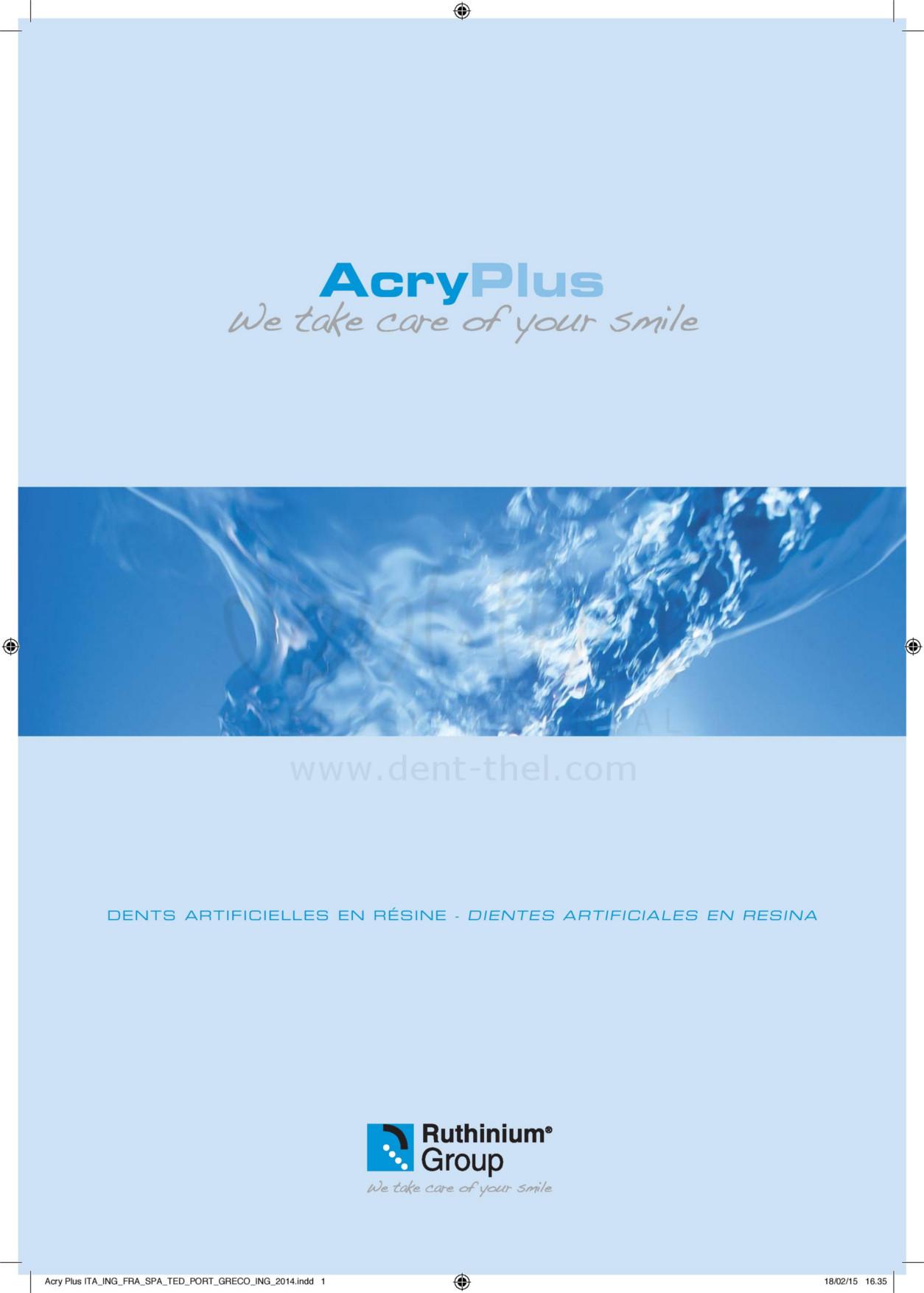 Carta formas Acry Plus