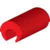 6 CABALLITOS Plástico barra Ackerman - rojo - 15-mm