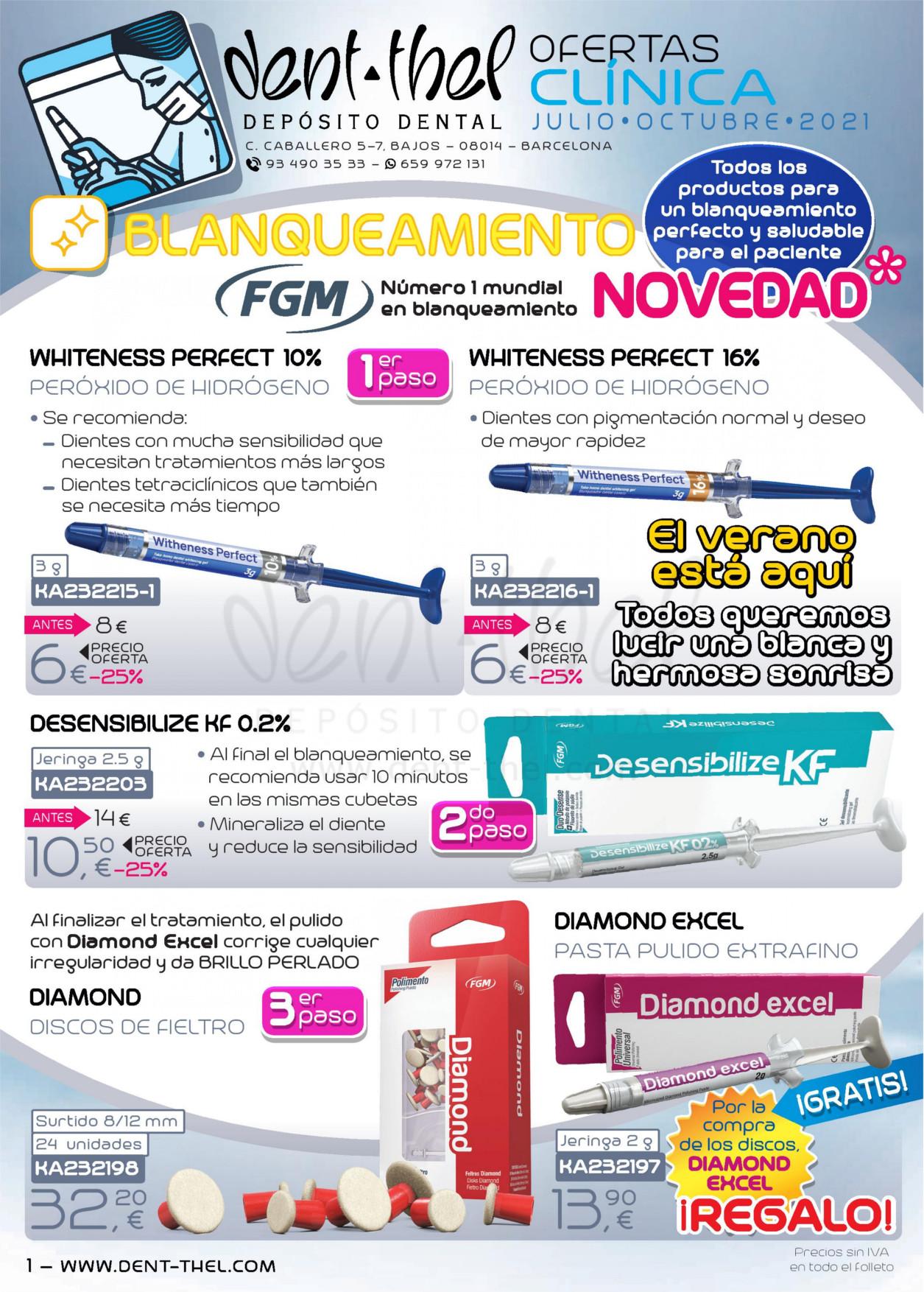 Ofertas Dent-thel para clínica